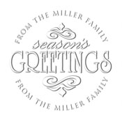 MONOGRAM EMBOSSING SEAL