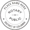 District of Columbia Notary Embosser
