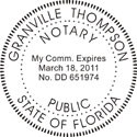 Florida Notary Embosser