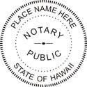 Hawaii Notary Embosser Hawaii Notary Public Notary Public