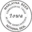 Iowa Notary Embosser Iowa State Notary Public Embossing Seal Iowa Notary Public Embossing Seal Iowa Notary Public Seal Notary Public Seal