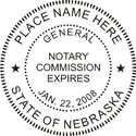 Nebraska Notary Embosser Nebraska Notary Public Embossing Seal Notary Public Embossing Seal Nebraska Notary Public Seal Notary Public Seal