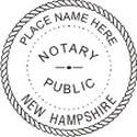 New Hampshire Notary Embosser New Hampshire Notary Public Embossing Seal New Hampshire Notary Notary Public Embossing Seal