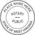 West Virginia Notary Embosser West Virginia Notary Public Embossing Seal West Virginia Notary Public Seal Notary Public Seal