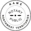 Northwest Territory Notary Embosser Northwest Territory Notary Public
