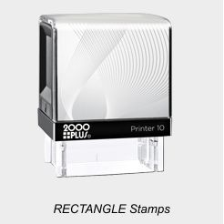 2000 Plus Rectangle Stamps