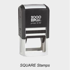 2000 Plus Square Stamps