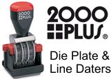2000 Plus Hand Stamp Daters
