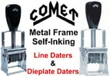 Comet Self-Inking Daters