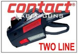Contact Price Marking Gun, Two Line Labeler