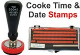 Cooke Time and Date Stamps