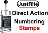 Justrite Direct Action Stamps