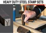 Heavy Duty Steel Stamp Sets