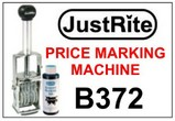 Price Marker, Self Inking 5 Band Price Marking Machine
