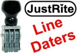 JustRite Line Dater Stamps