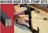Machine Made Stamp Sets