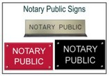 Notary Public Signs