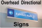 Modular Overhead Signs