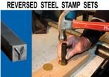 Reversed Steel Stamp Sets