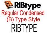 RIBtype REGULAR CONDENSED (B) RIBtype