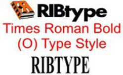 RIBtype TIMES ROMAN (O) RIBtype