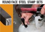 Round Face Steel Stamp Sets
