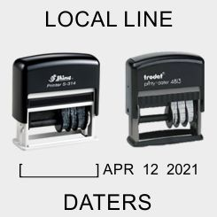Local Style Self-Inking Daters