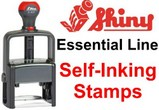 Shiny Essential Self-Inking Stamps