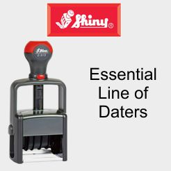 Shiny Essential - Self-Inking Daters