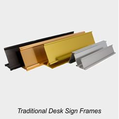 Traditional Desk Frames