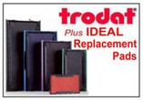 TRODAT & IDEAL Replacement Pads