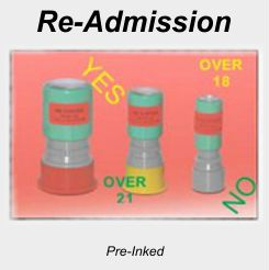 Re-Admission Stamps