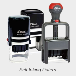 Self Inking Daters