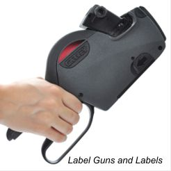 Contact Price Marking Gun and Labels