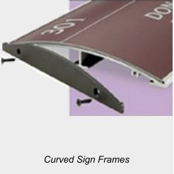 Curves Sign Frames