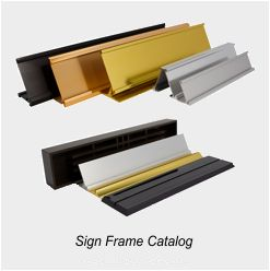 Sign Frame Catalog