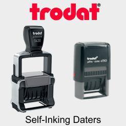 Trodat Self-Inking Daters