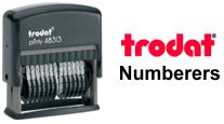 Trodat Printy Numbering Stamps