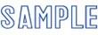 """Xstamper Pre-Inked Stock Stamp """"AIRMAIL"""" Xstamper Stock Stamp"""