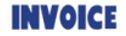 """Xstamper Pre-Inked Stock Stamp """"INVOICE"""" Xstamper Stock Stamp"""