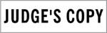 """Xstamper Pre-Inked Stock Stamp """"JUDGE'S COPY""""  Xstamper Stock Stamp"""