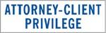 "Xstamper Pre-Inked Stock Stamp ""ATTORNEY-CLIENT PRIVILEGE"" Xstamper Stock Stamp"