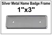 """1""""x3"""" Badge Frame"""