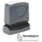 Teacher Stamp This Belongs To