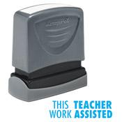 Teacher Stamp This Work Teach Assisted