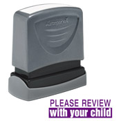 Teacher Stamp Please Review With Your Child