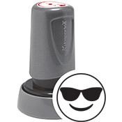 Teacher Stamp Sunglasses Happy Face Emoji