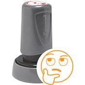 Teacher Stamp Thinking Face Emoji
