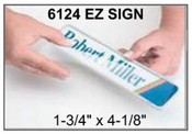 """6124 E-Z Sign Frame, 1-3/4""""x4-1/8"""", Square Corner E-Z Signs EZ Signs E-Z Sign Kits EZ Sign Kits JRS E-Z Sign JRS EZ Sign JRS E-Z Sign Kits E-Z Sign Paper"""