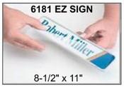 """6181 E-Z Sign Frame, 8-1/2""""x11"""", Square Corner E-Z Signs EZ Signs E-Z Sign Kits EZ Sign Kits JRS E-Z Sign JRS EZ Sign JRS E-Z Sign Kits E-Z Sign Paper"""